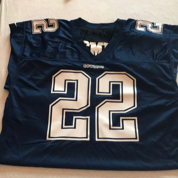 newest collection 329a5 3efc4 Reversible #22 E. Smith Dallas Cowboy Jersey